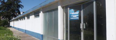 Las instalaciones del Comedor Solidario están sin utilización en el HRO y se comenzarán a adecuar para atender a 35 pacientes. (Fotos Prensa Libre: Raúl Juárez)