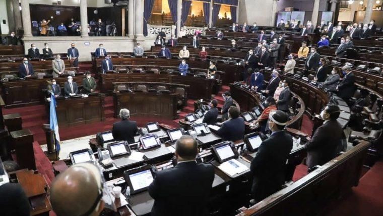 El Congreso empieza el segundo periodo de sesiones con una alianza dividida. (Foto Prensa Libre: Hemeroteca PL)
