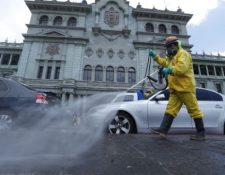 Guatemala mantiene medidas de prevención para reducir los contagios por coronavirus. (Foto Prensa Libre: Esbin García)