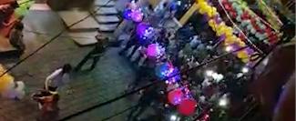 Un video muestra la caminata de los vecinos en Santiago Atitlán, Sololá.