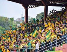 Afición Estadio David Cordón Hichos