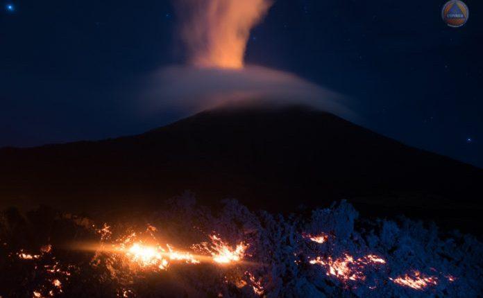 Autoridades advierten de que en cualquier momento podría ocurrir una mayor eventualidad en el Volcán de Pacaya. (Foto: Gobierno de Guatemala)