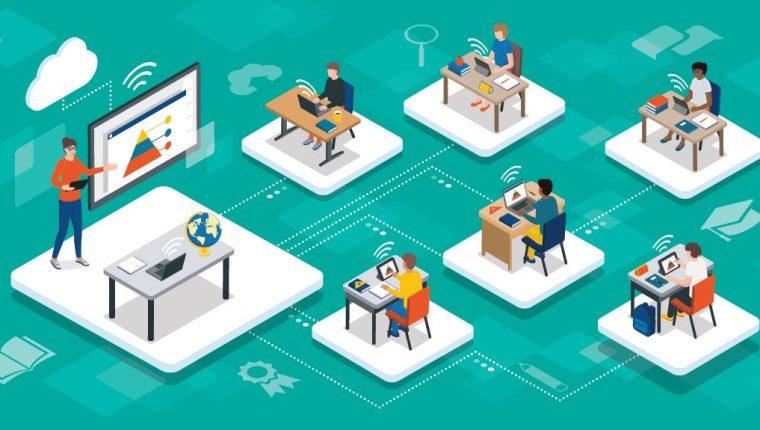 El covid-19 obligó a las universidades a acelerar el paso en la educación virtual, en un camino que ya habían comenzado. Imagen Prensa Libre ShutterStock