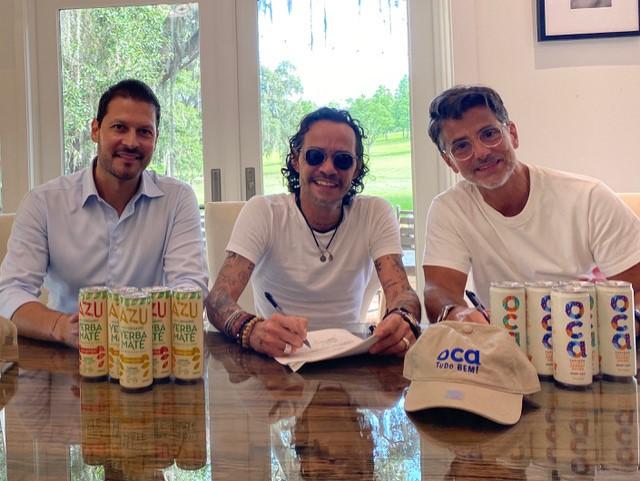 Marc Anthony hace alianza con empresa de origen guatemalteco para lanzar marcas de bebidas