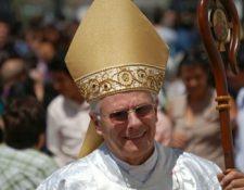 Gonzalo de Villa, arzobispo metropolitano. (Foto Prensa Libre: Tomada de la página de la Conferencia Episcopal de Guatemala)