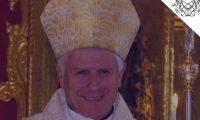Gonzalo de Villa, nuevo arzobispo metropolitano de la Arquidiócesis de Santiago de Guatemala. (Foto Prensa Libre: Tomada del Arzobispado de Guatemala).