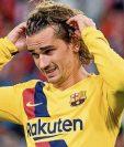 Antoine Griezmann ha sido una de las grandes decepciones en el Barcelona. (Foto Prensa Libre: Hemeroteca PL)