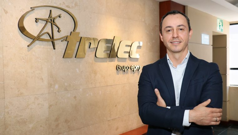 Juan Carlos Echeverri, gerente general de Trelec . Foto Prensa Libre: Cortesía.