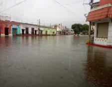 El Barrio Calvario zona 1 fue uno de los afectados por las inundaciones de este 26 de julio. (Foto Prensa Libre: Cortesía)