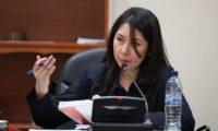 La jueza Erika Aifán. (Foto Prensa Libre: Hemeroteca PL)