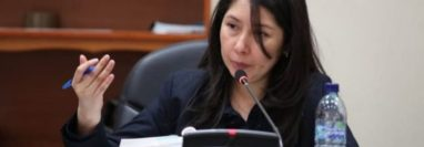 Erika Aifán, jueza de Mayor Riesgo D. (Foto Prensa Libre: Hemeroteca PL)