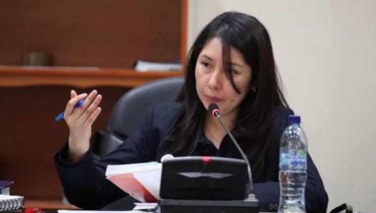Erika Aifán pide que PDH investigue una posible obstaculización a su trabajo y la independencia judicial
