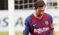 Lionel Messi y el Barcelona no pasan por su mejor momento. (Foto Prensa Libre: Hemeroteca PL)