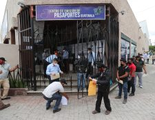 Imagen de archivo del centro de emisión de pasaportes. (Foto Prensa Libre: Érick Ávila)
