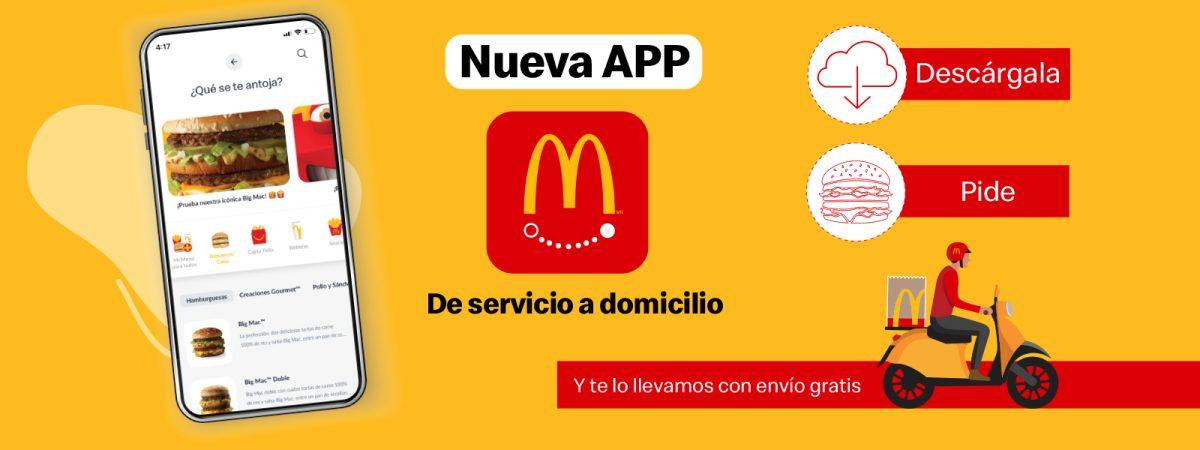 """McDonald´s lanza nueva App para servicio a domicilio """"Express"""""""