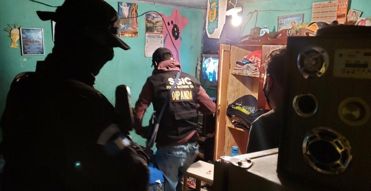 Operativo contra extorsiones deja varias capturas en tres departamentos
