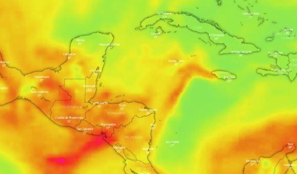 Polvo del Sahara continúa con presencia en Guatemala por lo que autoridades piden proteger la salud