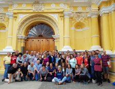 Por tercer año consecutivo se lanza la rifa Un Millón de Amigos de la Obras Sociales del Hermano Pedro. (Foto Prensa Libre: Cortesía)