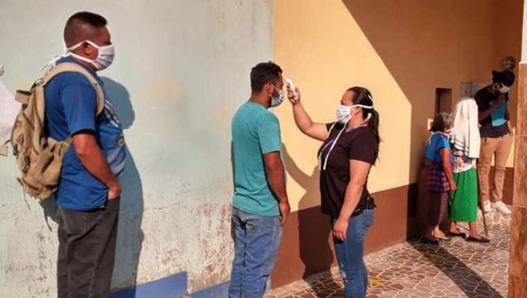 San Antonio La Paz registra más de 70 casos de coronavirus. (Foto Prensa Libre: Comuna de San Antonio La Paz)