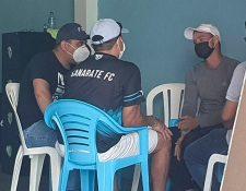 La nueva junta directiva de Sanarate FC ha iniciado las pláticas con los jugadores para solventar el tema económico. Foto Prensa Libre: Cortesía LaRed.