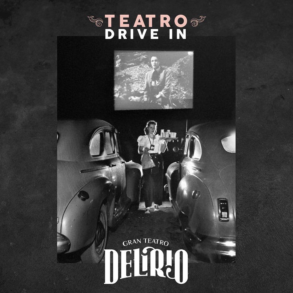 """El Gran Teatro Delirio crea un """"teatro drive in"""" en ciudad de Guatemala"""