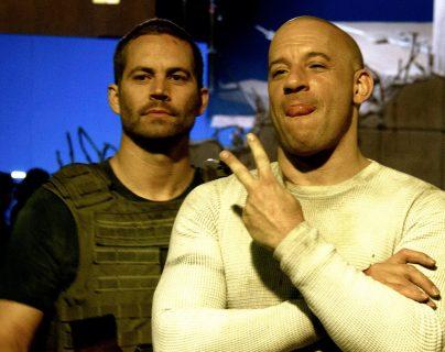 """Los actores Vin Diesel y Paul Walker, protagonistas de la saga """"Rápido y Furioso"""", tenían una amistad muy estrecha. (Foto Prensa Libre: Facebook @VinDiesel)."""