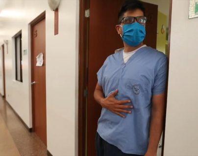 Pintado de Héroe: la emotiva carta que médicos del hospital del Parque de la Industria dedicaron a su compañero fallecido por coronavirus