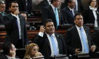 Allan Rodríguez (centro), presidente de la junta directiva del Congreso. (Foto: Hemeroteca PL)