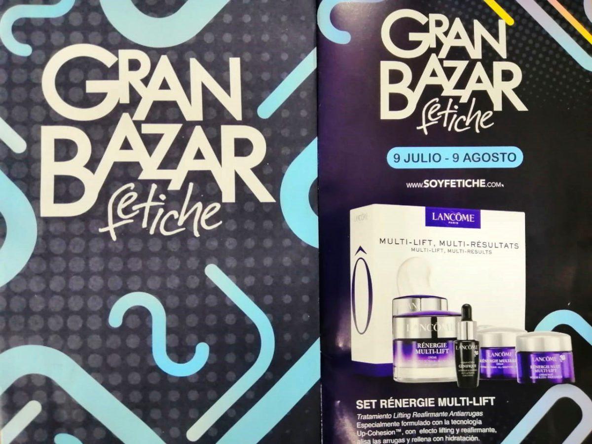 Fetiche abre una nueva temporada de ofertas con el Gran Bazar