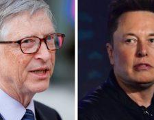 Bill Gates y Elon Musk. (Foto Prensa Libre: Hemeroteca PL)