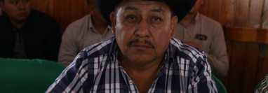 Alonzo Carlos Miguel, alcalde de San Miguel Acatán, Huehuetenango. (Foto Prensa Libre: Mike Castillo)