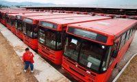 Los buses urbanos podrán circular, pero deberán cumplir normas de sanidad por el coronavirus. (Foto Prensa Libre: Hemeroteca PL)