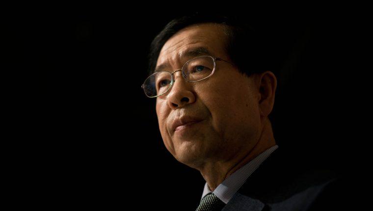 El alcalde de Seúl, Park Won-soon, quien era visto como un potencial candidato presidencial, fue encontrado muerto. (Foto Prensa Libre: AFP)