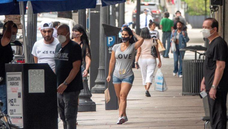 Firma Gallup revela cifras con niveles de preocupación por contagio de coronavirus en EE. UU. (Foto Prensa Libre: EFE)