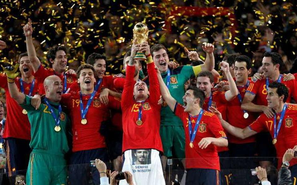 España celebra el décimo aniversario del título de campeón en Sudáfrica 2010
