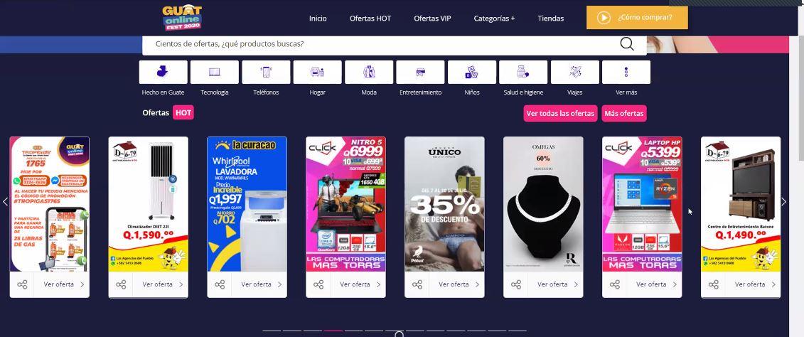 Arranca GuatOnline Fest con 192 empresas y 1 mil 800 ofertas en comercio electrónico