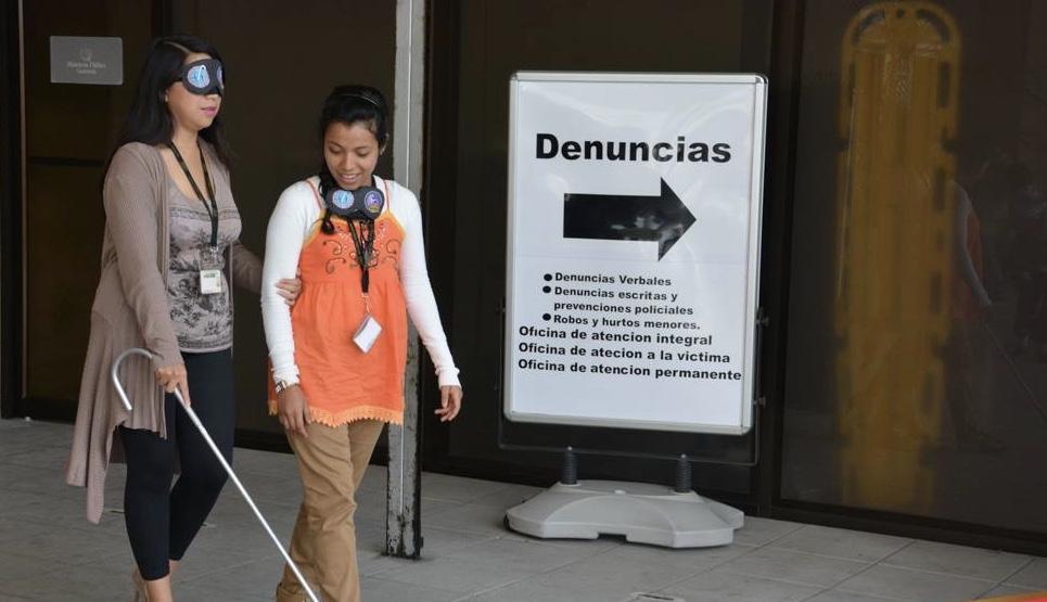 Pro Ciegos y MP fortalecerán la asistencia a las personas con discapacidad visual y auditiva