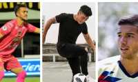 Ricardo Jerez, Nico Rittmeyer y Jesús López jugarían la eliminatoria con la Selección de Guatemala. (Foto Prensa Libre: IG Jerez, Rittmeyer y López)