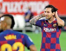 Lionel Messi podría terminar su carrera en Italia. (Foto Prensa Libre: Hemeroteca PL)