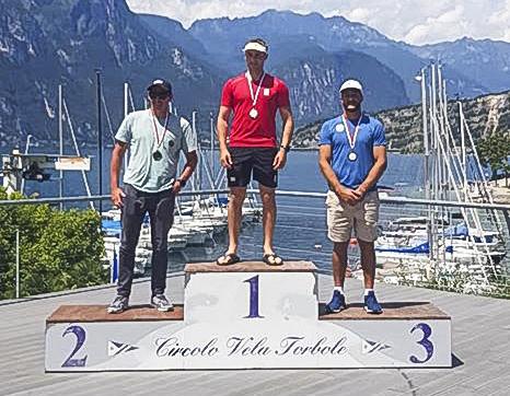 Juan Ignacio Maegli volvió a subir a un podio de ganadores, después de cuatro meses de inactividad. Foto Prensa Libre: Tomada de redes