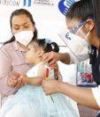 Los casos de desnutrición aguda se detectan a través de la medición de la circunferencia media de brazo, en niños de seis meses a 5 años. (Foto Prensa Libre: Sesán)