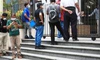 El sector empleador dice que este año fue mal para la economía por el efecto del coronavirus. (Foto Prensa Libre: Hemeroteca)