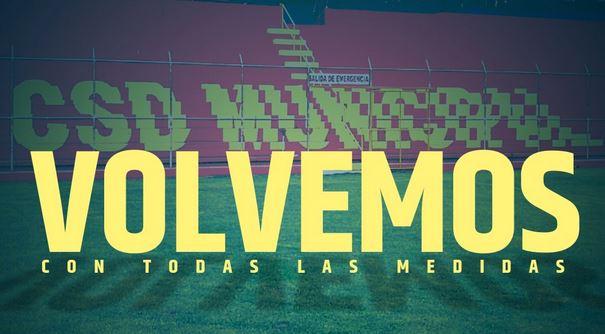 Municipal anuncia su regreso a los entrenamientos. (Foto Prensa Libre: CSD Municipal)