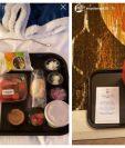 Algunos jugadores de la NBA se han quejado de la comida en la burbuja de Orlando. (Foto Prensa Libre: Twitter @luis_basket7)
