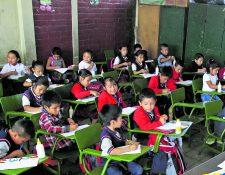 Las clases presenciales continúan suspendidas por tiempo indefinido. (Foto Prensa Libre: HemerotecaPL)