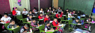 El ciclo escolar 2020 ya finalizó. (Foto Prensa Libre: HemerotecaPL)