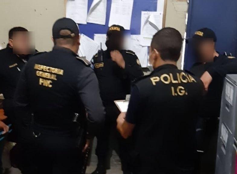 Agentes de la PNC son capturados por robo de Q414 mil de una entidad bancaria