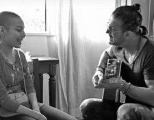 Ricardo Arjona conoció a  Verónica Luque en 2017. (Foto Prensa Libre: Cortesía Metamorfosis)