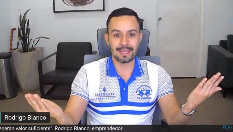 Rodrigo Blanco, experto en comercio electrónico, explica los primeros pasos para pensar en vender en redes sociales. (Foto, Prensa Libre: Hemeroteca PL).