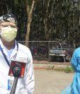 Los médicos del hospital Roosevelt piden a la población evitar contagiarse y utilizar todas las medidas de prevención.  (Foto Prensa Libre: Andrea Domínguez)